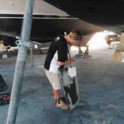 Rudder repair