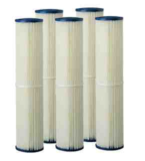 Filter Poly pleated