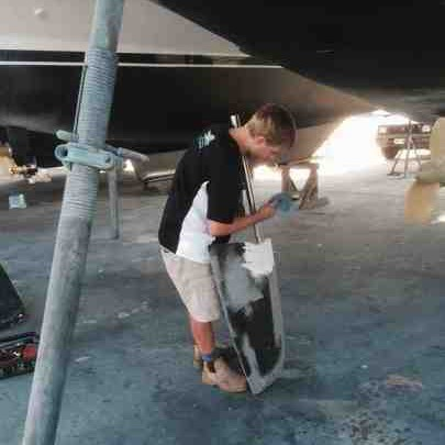Rudder repair